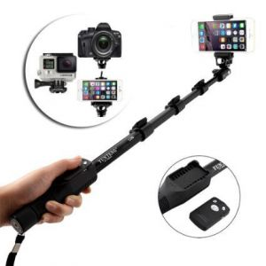 YT1288 Selfie Stick For Camera and Smartphones with Bluetooth Remote