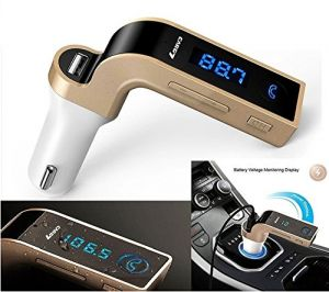 Bluetooth FM Transmitter Universal Wireless in-Car FM Adapter Car Kit