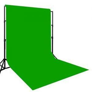 Photography Backdrop Background Cloth for Photo Shoot Portrait Video Shooting with Carry Bag (Green)