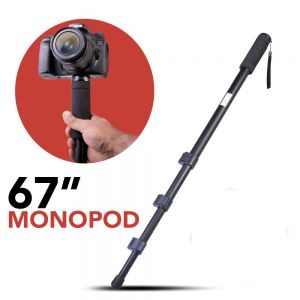 67-Inch Lightweight Monopod Stand With Nylon Carry Case