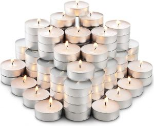 Tealight Diya Candles for Diwali 2.5 Hour Burn Time- Pack of 100